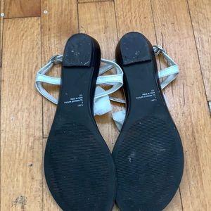 Steve Madden Shoes - White bow sandals